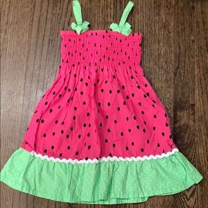 Watermelon dress size 4t